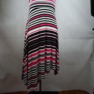 Spense Dresses - 🔵5/$50🔵 Spense Striped Black Pink White Dress M